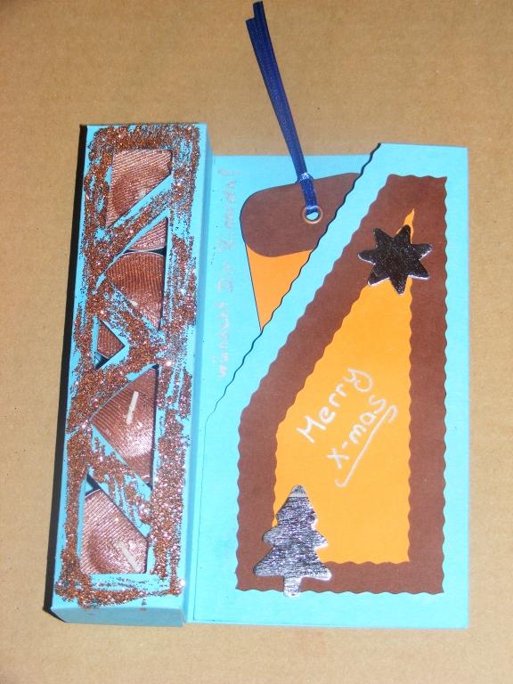 Lesezeichen in Kartentasche